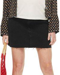 TOPSHOP - Maternity Washed Denim Skirt - Lyst