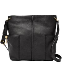 Fossil - Lane Leather Crossbody Bag - Lyst