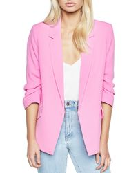Bardot | Tuck-sleeve Blazer | Lyst