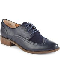 Seychelles   Vegan Leather And Suede Oxfords   Lyst