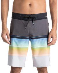 Quiksilver | Stripe Self-tie Boardshorts | Lyst