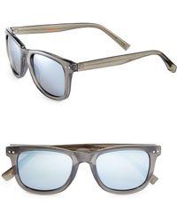 Dockers - 51mm Clear Wayfarer Sunglasses - Lyst