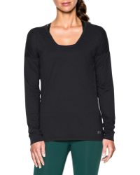 Under Armour - Favourite Drop Shoulder Long Sleeve Sweater - Lyst