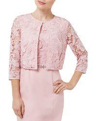 Precis Petite - Lace Cropped Jacket - Lyst
