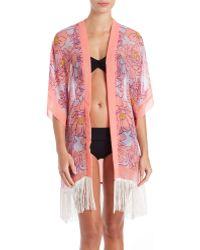 Theodora & Callum   Condesa Kimono Coverup   Lyst