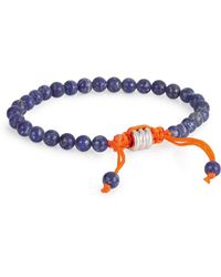 John Zack | Mini Beaded Bracelet | Lyst