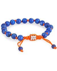 John Zack - Adjustable Beaded Bracelet - Lyst
