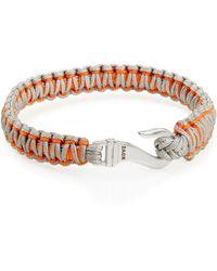 John Zack - Woven Multi-colour Bracelet - Lyst