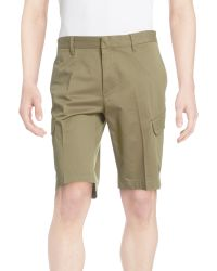 Victorinox | Stretch Khaki Shorts | Lyst