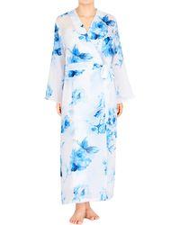Jones New York - Long Sleeve Floral Robe - Lyst