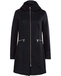 Olsen | Circle Quilt Car Coat | Lyst