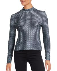Clover Canyon - Ribbed Medallion Turtleneck - Lyst