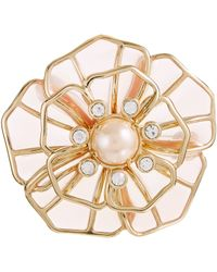 Kate Spade - Sunset Blossoms Brooch - Lyst