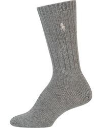 Lauren by Ralph Lauren - Hiker Slouch Boot Socks - Lyst
