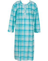 Jasmine Rose - Plaid Sleeping Gown - Lyst