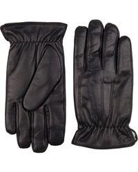 Dockers - Trigger Finger Leather Gloves - Lyst