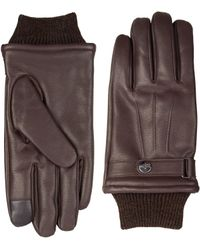 Dockers - Leather Intelitouch Gloves - Lyst