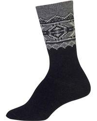 Lauren by Ralph Lauren - Fair Isle Border Trouser Socks - Lyst