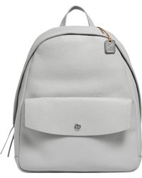 Skagen - Aften Textured Leather Backpack - Lyst