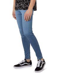 TOPMAN - Spray-on Skinny Jeans - Lyst
