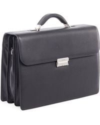Bugatti - Sartoria Medium Leather Briefcase - Lyst
