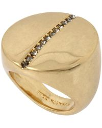 Kenneth Cole | Pave Circle Ring | Lyst