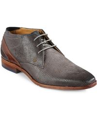Bugatti - Textured Leather Dress Shoes - Lyst