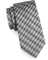 Arrow - Soft Check Silk Tie - Lyst
