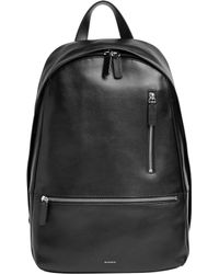 Skagen - Kroyer Leather Backpack - Lyst