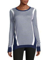 G.H. Bass & Co. - Striped Stretch Sweater - Lyst