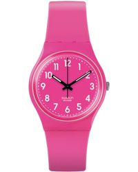 Swatch - Core Collection Silicone Analog Watch - Lyst