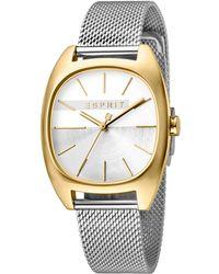 d3579a45a9b Esprit - Infinity Horloge Staal Zilverkleurig Ø 32 Mm - Lyst