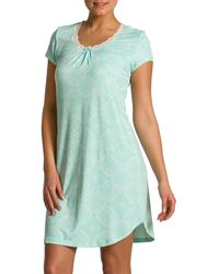 Jasmine Rose - Floral Print Night Shirt - Lyst
