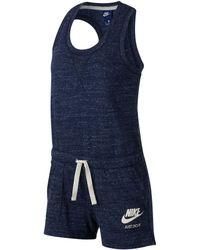 Nike - Gym Vintage Romper - Lyst