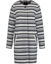 Olsen | Bold Striped Coat | Lyst