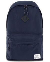 TOPMAN - Nylon Logo Backpack - Lyst
