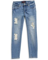 Material Girl | Lace Repair Skinny Jeans | Lyst