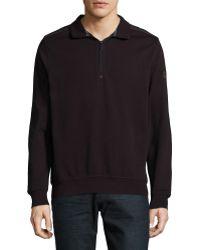 Bugatti - Stand Collar Sweatshirt - Lyst