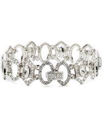 Carolee - Crystal Abbey Flex Bracelet - Lyst