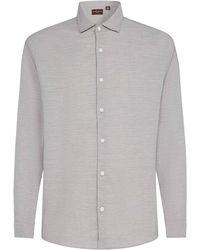 Black & Brown - Overhemd Met Onzichtbare Button Down - Lyst