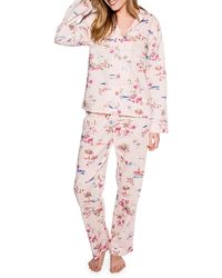 Pj Salvage - Playful Prints Cotton Pajama Set - Lyst