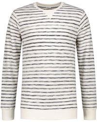 Dstrezzed - Crew Uneven Stripe Sweater - Lyst