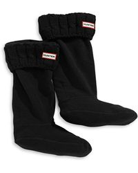 HUNTER - Six-stitch Cable Boot Sock - Lyst
