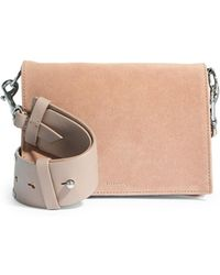AllSaints - Billie Leather Mini Crossbody Bag - Lyst