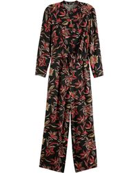 Scotch & Soda - All-in-one Jumpsuit Met Print - Lyst