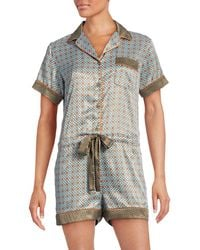 Clover Canyon - Spot And Clover Pajama Romper - Lyst