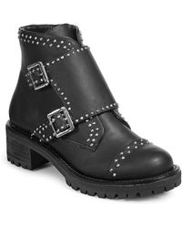 Lord & Taylor | Studded Moto Boots | Lyst