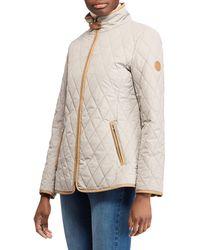 Lauren by Ralph Lauren | Quilted Hooded Jacket | Lyst