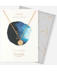 Orelia - Cancer Constellation Gift Envelope - Lyst