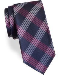 Arrow - Plaid Silk Tie - Lyst